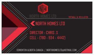 NORTH HOMES LTD ( DRYWALL & INSULATION ) Edmonton Edmonton Area image 4
