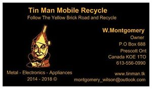 Prescott Tinman Mobile Recycle