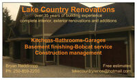 Lake Country renovations