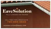 PROFESSIONAL SOLUTION FOR YOUR EAVESTROUGHS(GUTTERS)