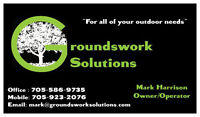 Save $, Call Groundswork Solutions for all of your outdoor needs