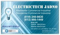 Master electrician (Biling)