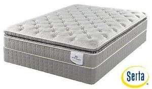 $$$ Blow Out Sale*brand new SERTA Queen eurotop mattress - limited qty and time offer