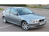 2004 BMW 318 TI SE COMPACT AUTO FULL SERVICE HISTORY 67k IMMACULATE