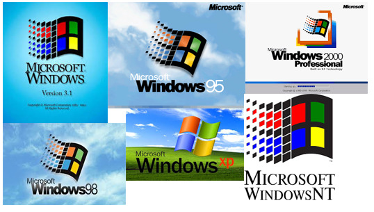 Legacy Windows 3.1, Windows 95, Windows 98, Windows XP Services