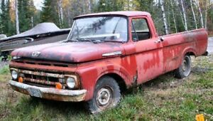 60s Ford F100 trucks WANTED for parts or restoration