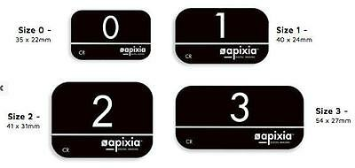 New 4 Pk Apixia Psp Phosphor Plate Works W Scanx Air Techniques Others