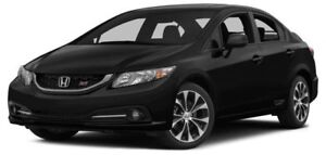 2013 Honda Civic Si Sedan SI 6MT