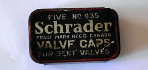 Valve cap box,by SCHRADER-- $9 ----Plus some other boxes London Ontario image 1