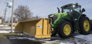 Snow Removal - Tractor with Plow Available for rent
