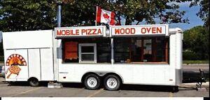 wood oven pizza trailer for sale London Ontario image 1