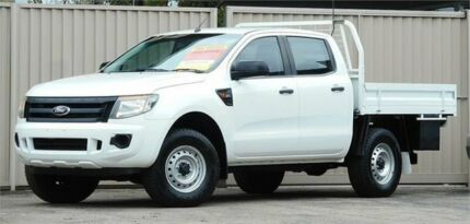 2012 Ford Ranger PX XL 3.2 (4x4) White 6 Speed Automatic Dual Cab Utility Lismore Lismore Area Preview