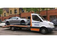 CAR RECOVERY BREAKDOWN TOWING COMPANY CAR DELIVERY CAR TRANSPORTER SERVICE AUCTION M25 M1 M11