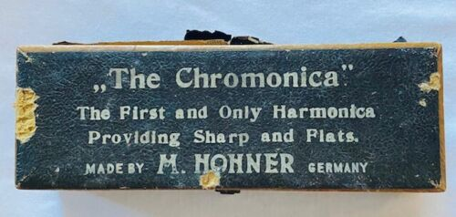 "Vintage ""The Chromonica"" M.Hohner Harmonica-C-Made In Germany--Age No Clue-OLD"