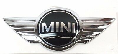 Mini Cooper S Coupe Convertible Genuine Hood Emblem 2002-2006 NEW
