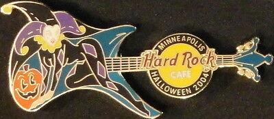 Hard Rock Cafe MINNEAPOLIS 2004 HALLOWEEN PIN Costume Guitar JESTER - HRC #24704
