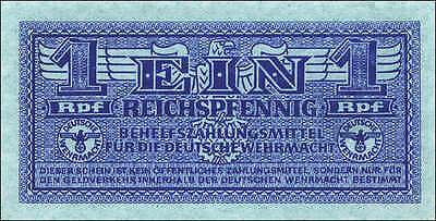 Ro.501a 1 Reichspfennig (1942) blau (1) Wehrmacht
