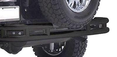 """Rear 3"""" Tube Bumper Textured Black for Jeep Wrangler JK 07-18 Smittybilt JB48-RT"""