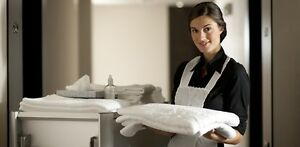 Motel Housekeeper in Bolton, just north of Brampton