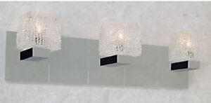 Gorgeous Modern Bathroom Light Fixture! Great Condition, $60!!