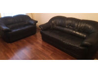 quality leather sofa 3 +2