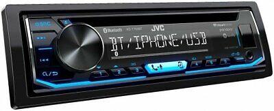 JVC KD-TD70BT 1 DIN In-Dash USB Bluetooth CD Music Player Re