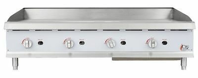 Countertop Gas Griddle 48 Inch Restaurant Kitchen Commercial Flat Top Grill