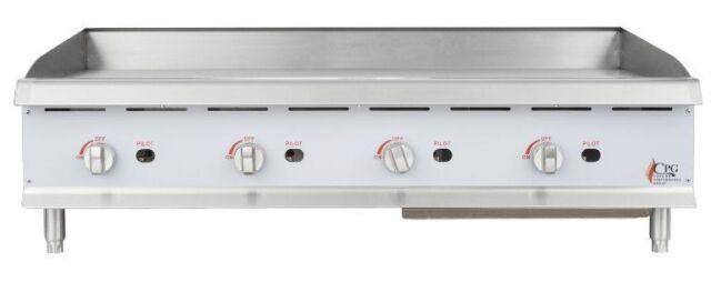 Restaurant Kitchen Grill countertop gas griddle 48 inch restaurant kitchen commercial flat