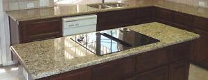 Comptoir granite,quartz ,,renvation des armoires de cuisine