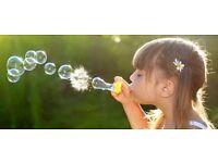 Weekdays babysitting and child care