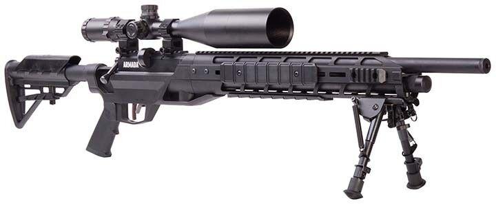 Benjamin BTAP25SX Armada (.25) with Optics and Bipod Air Rifle