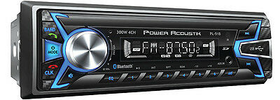 New Power Acoustik Single 1 Din PL-51B SD MP3 Digital Media Player Bluetooth