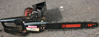 "Mastercraft 14"" 10 Amp Electric Chainsaw"