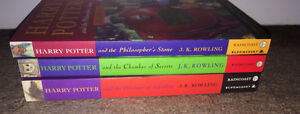 Harry Potter Books 1st 3 Books in Series ~ Soft Cover Nice Clean