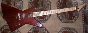 Guitare électrique baryton de luthier (ALP-Warmoth)