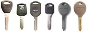 Vehicle Keys and Fobs