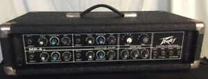 PEAVEY  MP4  4 CHANNEL POWERED MIXER
