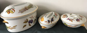 Royal Worcester Casserole Dishes