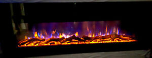 Electric Fireplace 60'' Built-IN*LIMITED TIME SPECIAL*Gorgeous*