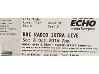 BBC 1xtra Live Liverpool Single Ticket £15 for SALE