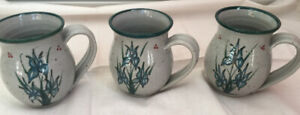 3 mugs Crimmins pottery price drop!