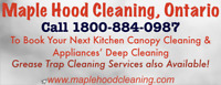 Commercial Kitchen Exhaust Hood ( Canopy ) Cleaning
