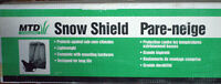 pare-neige pour souffleuse / Snow blower snow shield