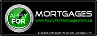 Good Credit or Bad Credit. We can Help!! ApplyForMortgagesNow.ca