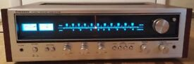 Vintage Pioneer SX-535 AM/FM Stereo Receiver (1976) - c/w Phono Stage