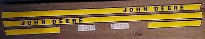 John Deere Tractor Model 2130 Eary Model Decal Set