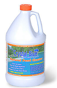 4 gallons Sanco Natural Pond Cleaner - -