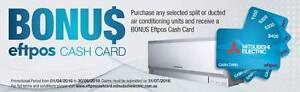 WHOLESALE Mitsubishi Electric Split Reverse Cycle Air conditioner Caboolture Caboolture Area Preview