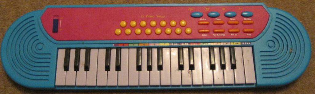Small toy keyboard   in Hoghton, Lancashire   Gumtree