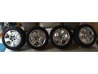 """Skoda Octavia Mk 2 / Audi 16"""" Alloy wheels & summer tyres 205/55 R16"""